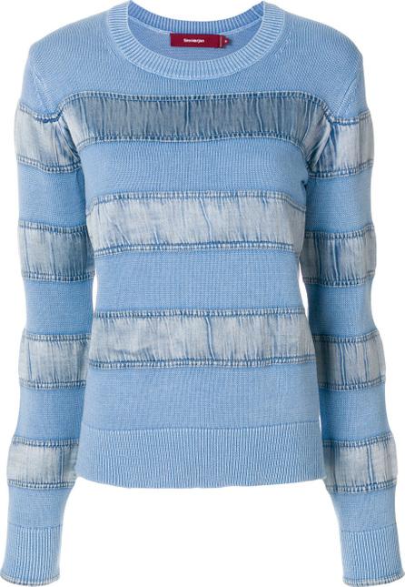 Sies Marjan Velvet stripe sweater