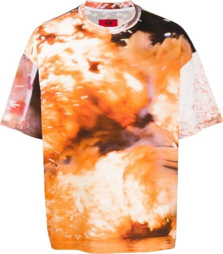424 Fairfax Abstract print T-shirt