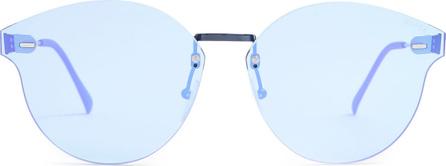 RetroSuperFuture Tuttolente frame-less cat-eye sunglasses