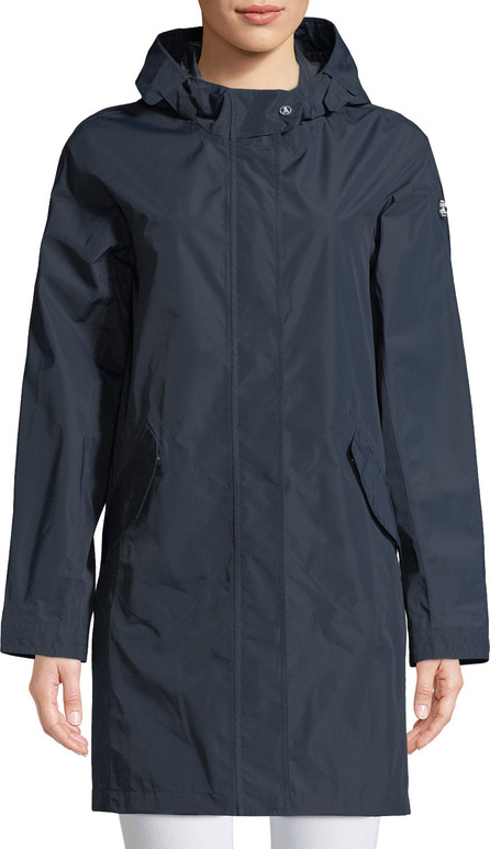 Barbour Hartland Long Jacket w/ Hood