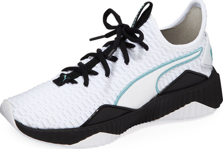 PUMA Defy Knitted Runner Sneakers