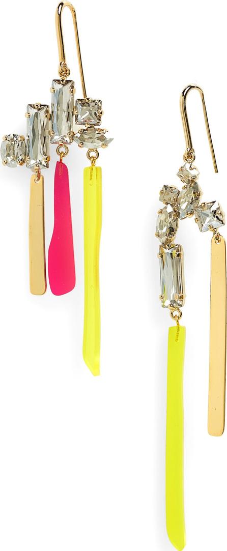 Isabel Marant Tabu Mismatched Drop Earrings
