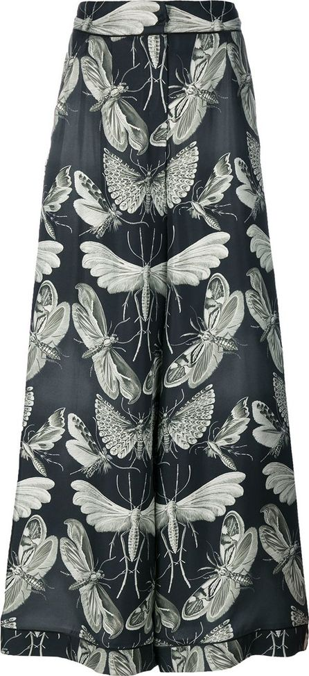F.R.S For Restless Sleepers insects print flared pants