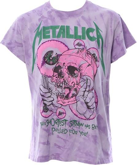MADEWORN METALLICA SHORTEST STRAW t-shirt