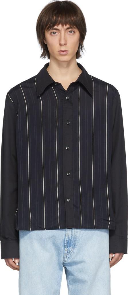 Our Legacy Black Stripe Placket Shirt