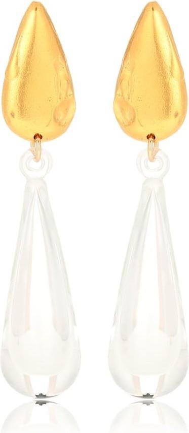 Alighieri Dusky Hue 24kt gold-plated earrings