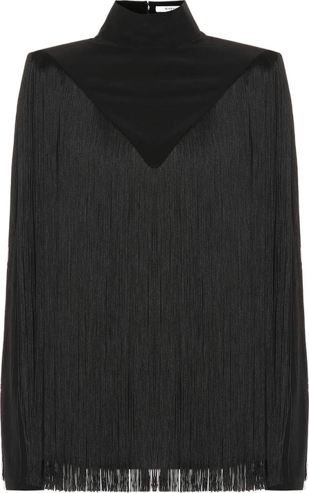 Givenchy Fringed silk top