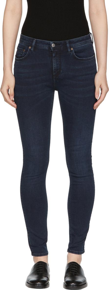 Acne Studios Blå Konst Blue Climb Jeans
