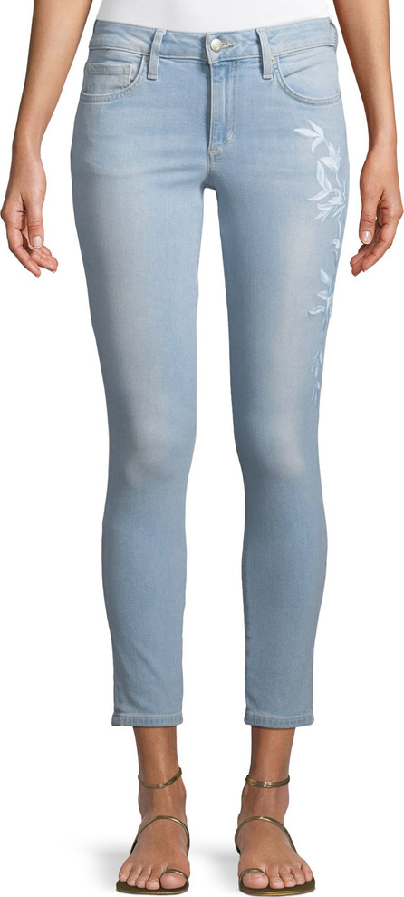Joe's Jeans Icon Mid-Rise Skinny Cropped Jeans