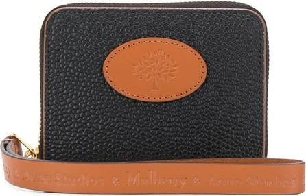 Acne Studios & Mulberry small zip-around scotchgrain wallet