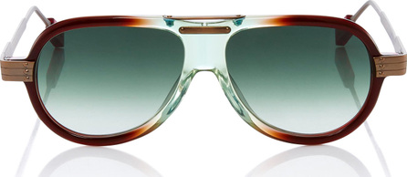 Rosie Assoulin X Morgenthal Frederics Astro Pop Aviator Sunglasses