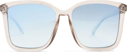 Le Specs It Aint Baroque square-frame acetate sunglasses