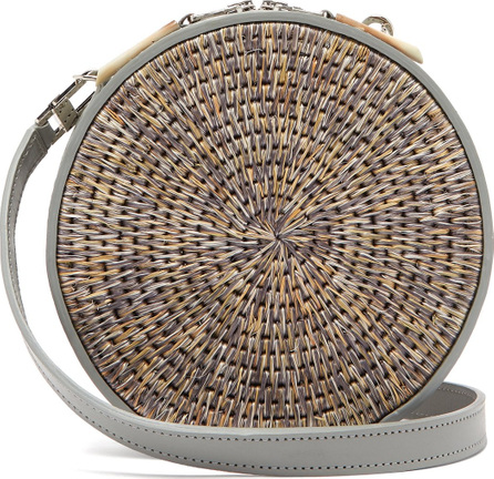 Khokho Sindi leather-trimmed basket bag