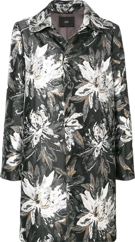 Steffen Schraut Floral print trench coat