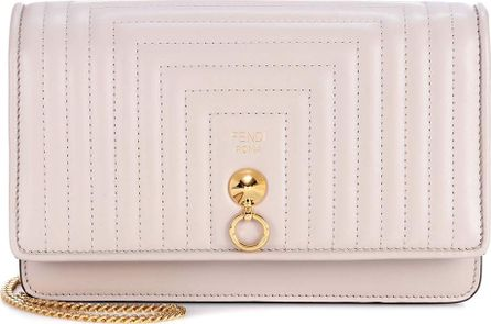 Fendi Small Flap leather shoulder bag