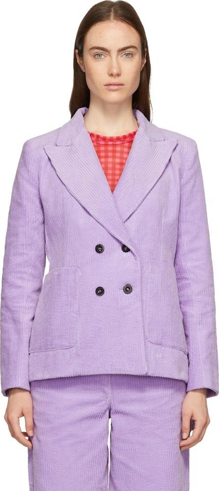 Ashley Williams Purple Executive Blazer
