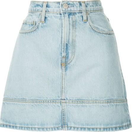 Nobody Denim Seam denim mini skirt