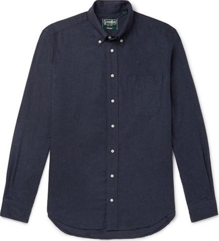 Gitman Vintage Button-Down Collar Cotton-Flannel Shirt