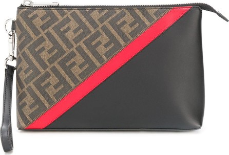 Fendi Monogram pattern clutch bag