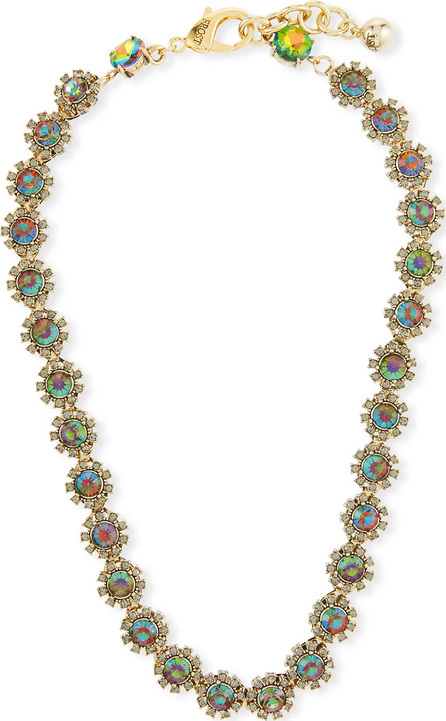 Lulu Frost Beam Riviera Crystal Necklace