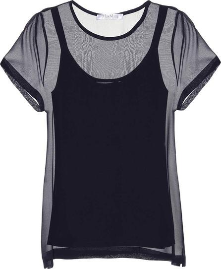 Max Mara Domino silk T-shirt