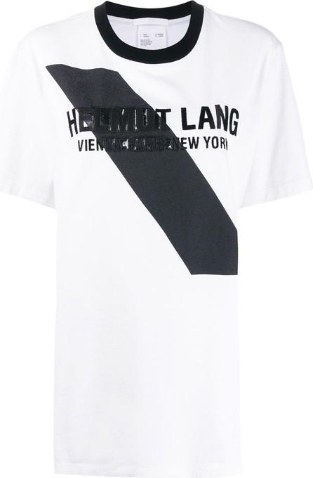 Helmut Lang Logo embellished T-shirt