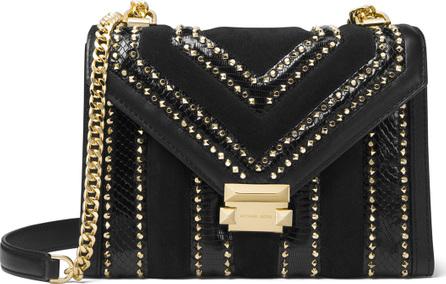 MICHAEL MICHAEL KORS Whitney Large Studded Flap Shoulder Bag