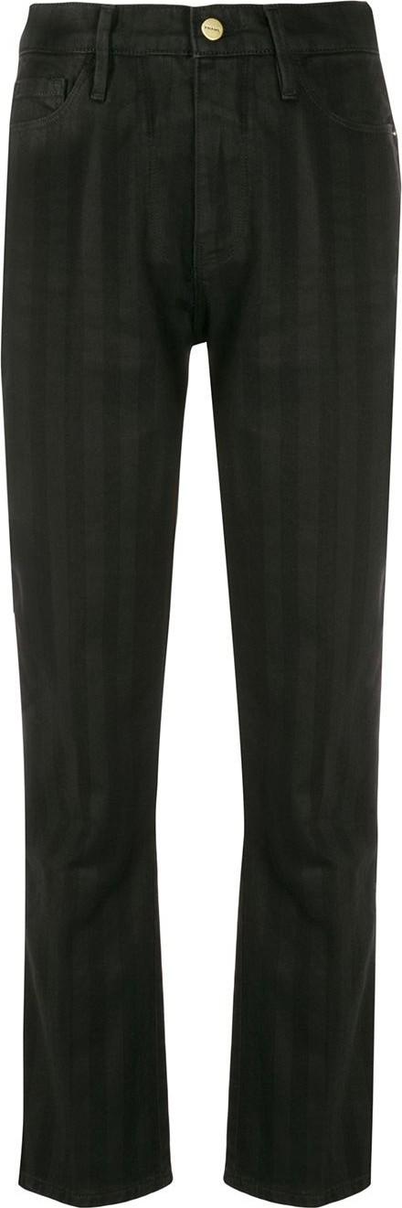 FRAME DENIM Sylvie tonal stripe jeans
