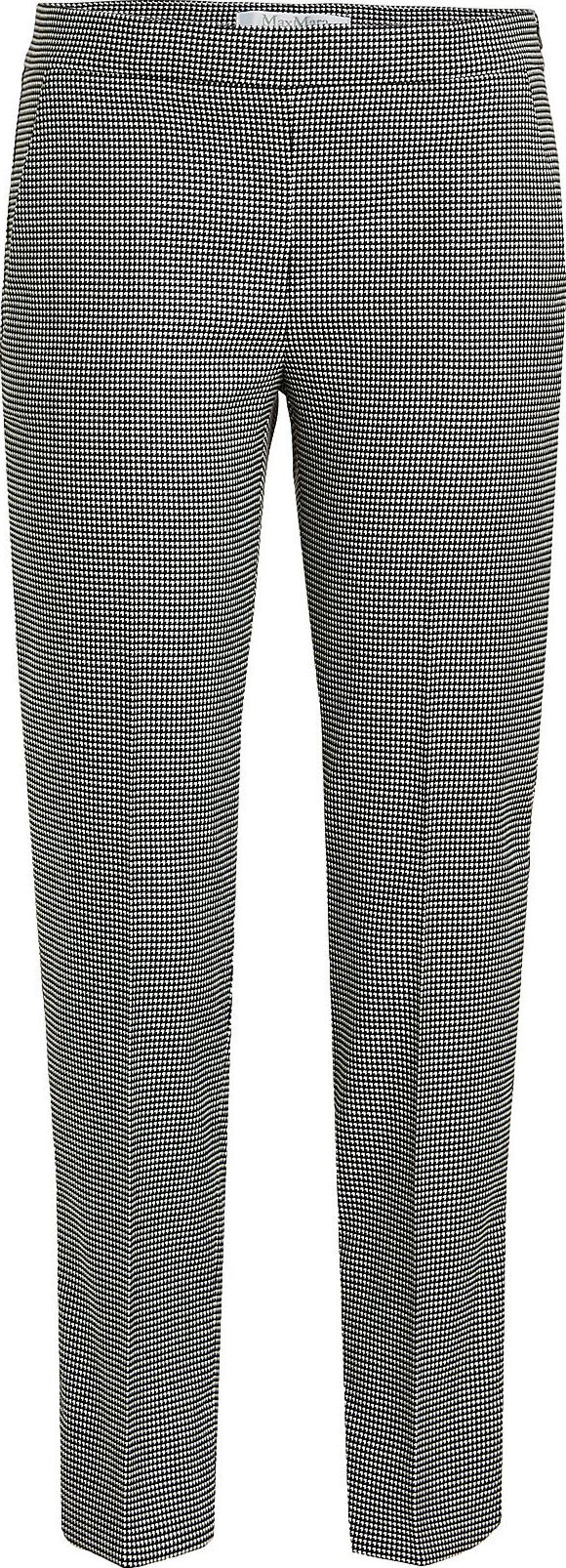 Max Mara - Printed Pants with Wool