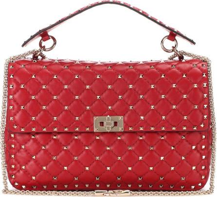 Valentino Valentino Garavani Rockstud Spike chain leather shoulder bag