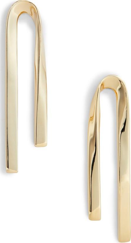 St. John Twist Metal Earrings