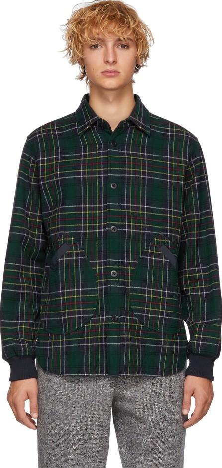 Comme des Garçons Homme Multicolor Check Tartan Shirt