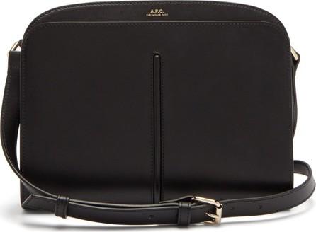 A.P.C. Aurelie leather cross-body bag
