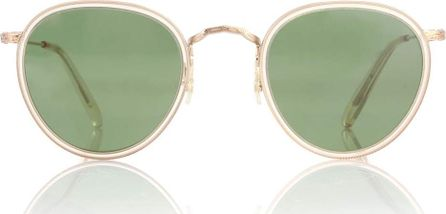 Oliver Peoples Man rounded sunglasses