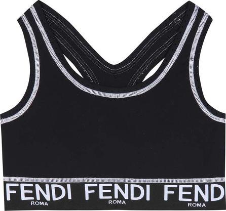 Fendi Printed crop top