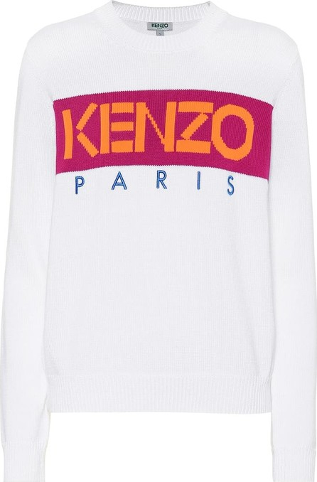 KENZO Logo cotton-blend sweater