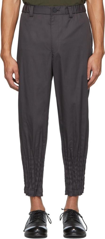 Issey Miyake Men Grey Torus Basic Trousers