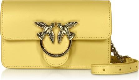 Pinko Yellow Love Baby Simply Shoulder/Belt Bag