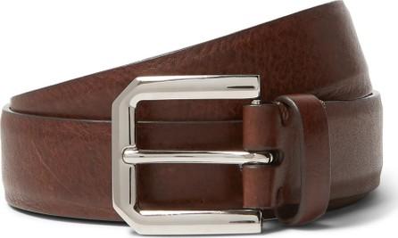 Brunello Cucinelli 3cm Brown Leather Belt