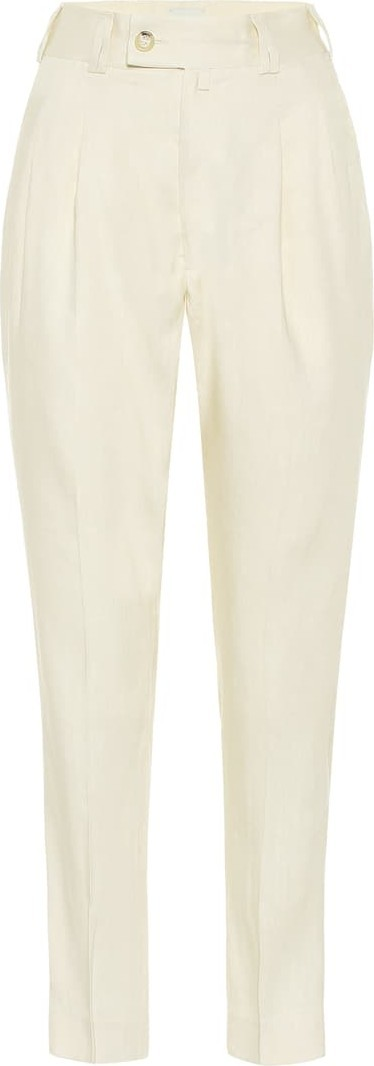 Arje The Sabi linen-blend pants