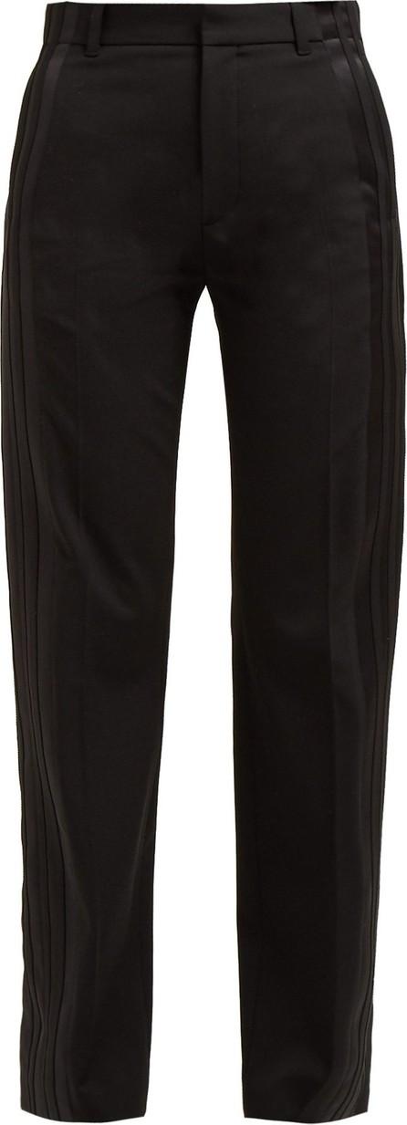 Balenciaga Striped high-rise trousers