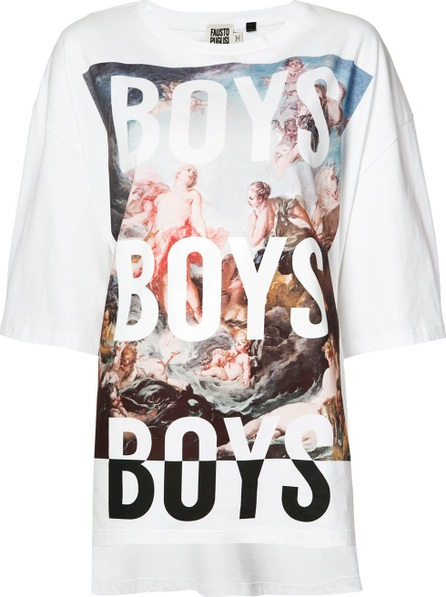 Fausto Puglisi Boys graphic T-shirt