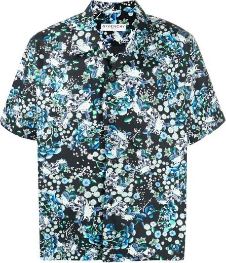 Givenchy Short sleeve floral printed shirt