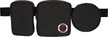 Alexander McQueen Black Multi-Pouch Belt Bag