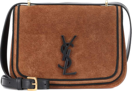 Saint Laurent Small Spontini suede shoulder bag