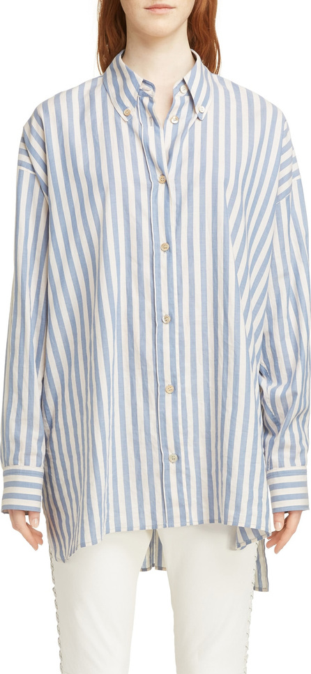 Isabel Marant Maca Oversized Stripe Shirt
