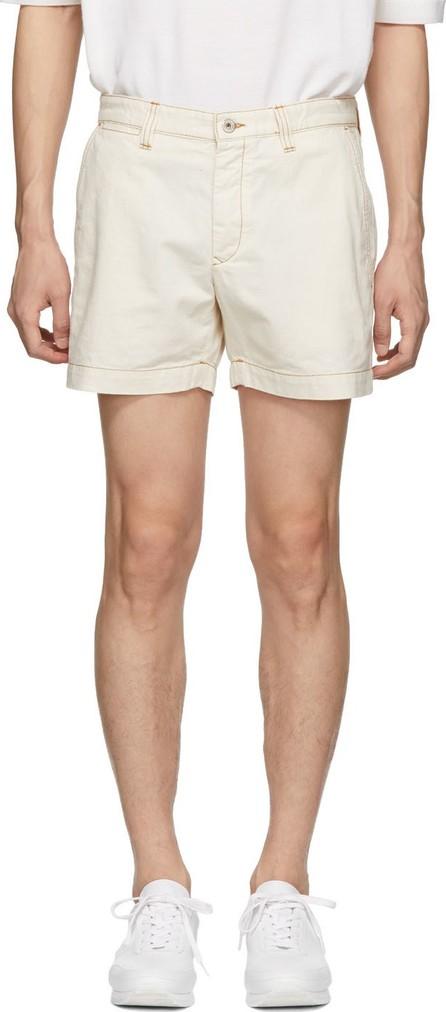 LOEWE White Denim Shorts