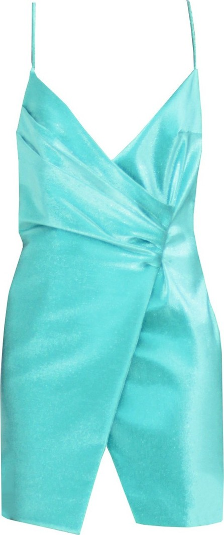 Area Wrap Effect Dress