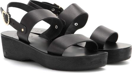 Ancient Greek Sandals Dinami Sabot leather sandals
