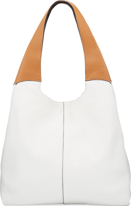 Hayward Grand Two-Tone Shopper Tote Bag